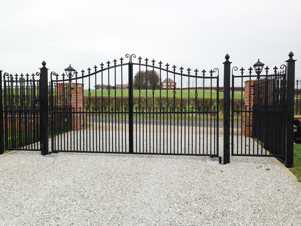 Burton Agnes Steel Gates