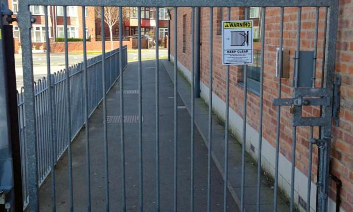 pedestrian gate safety