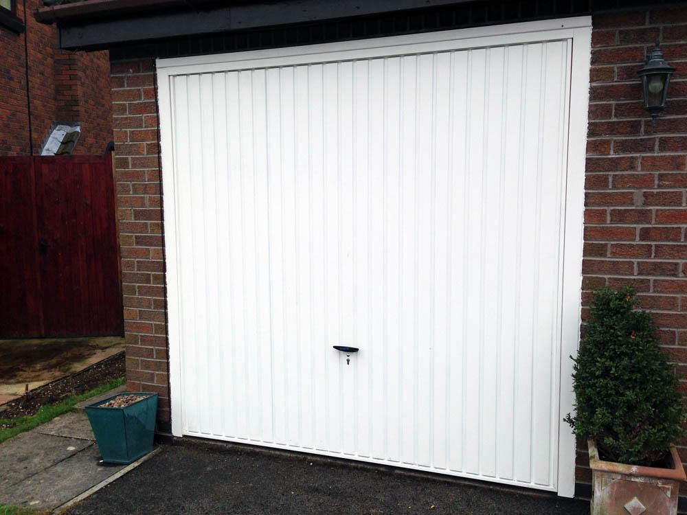 Novoferm Retractable Garage Door Installed By Swan Gates