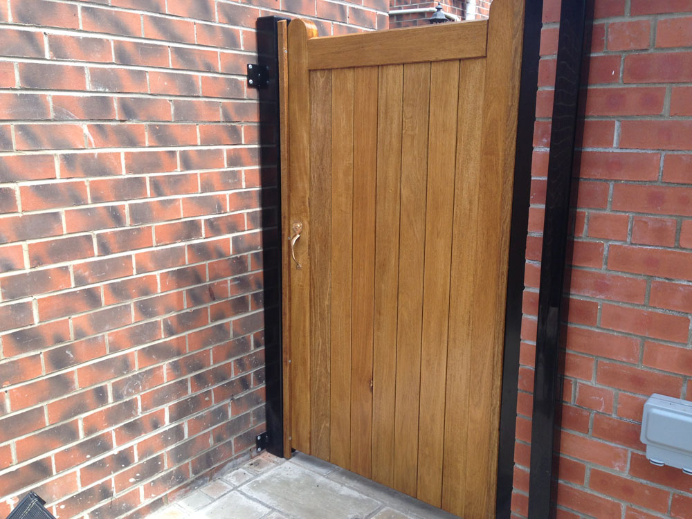 Timber Side Gate Installed In Cottingham