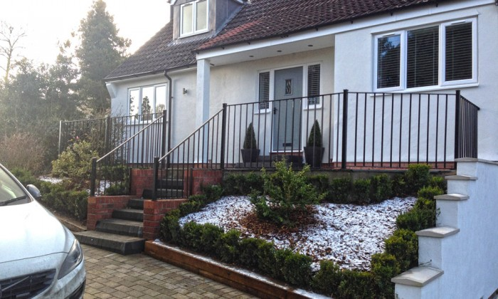 Bespoke Railings and Handrail in Hull