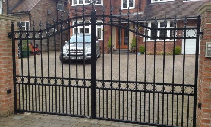 refurbished wrought iron gates hull