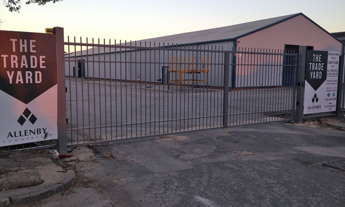 commercial security gates beverley