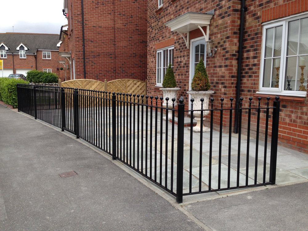 Ball Top Railings Bespoke Railings By Swan Gates Hull