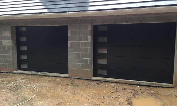 sectional garage doors hull