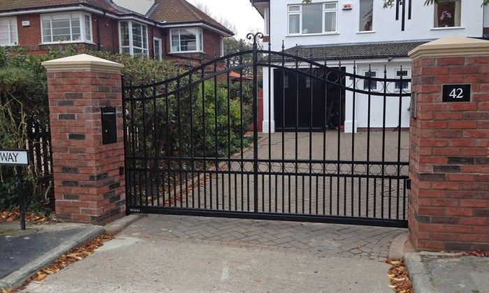 Sliding Wrought Iron Gate