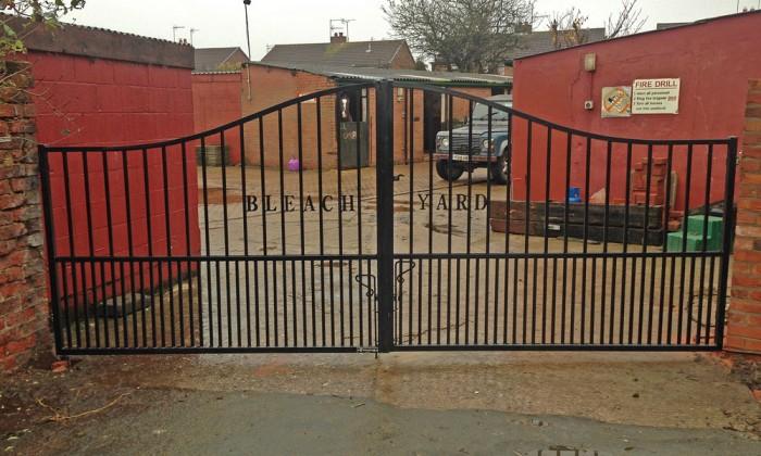 horse yard gates