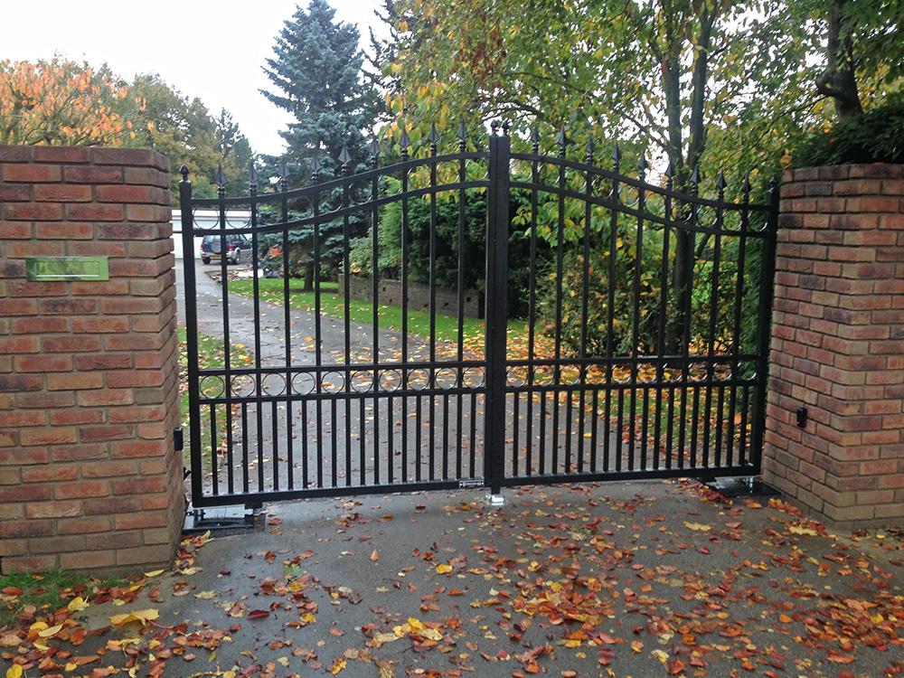 electric gate installation swanland