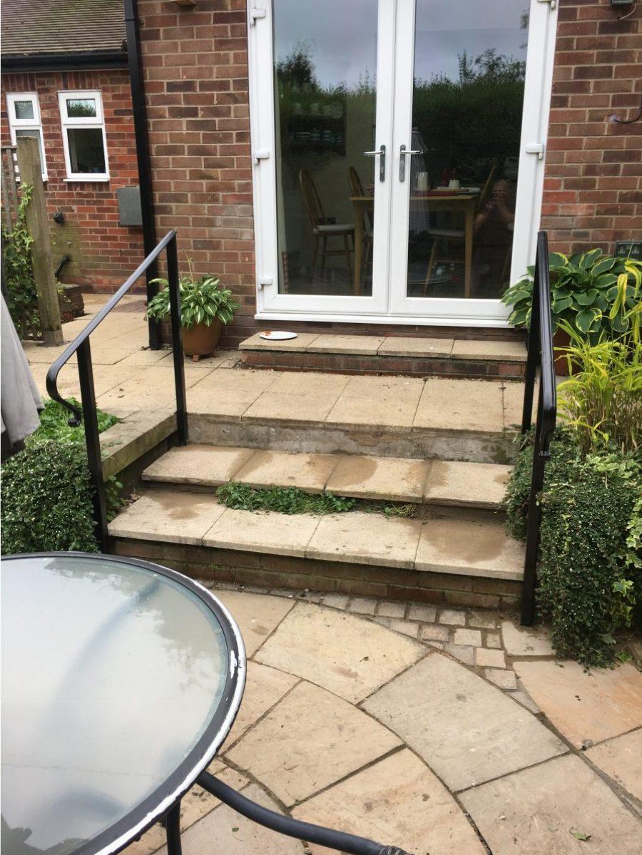 Minamilistic bespoke handrail