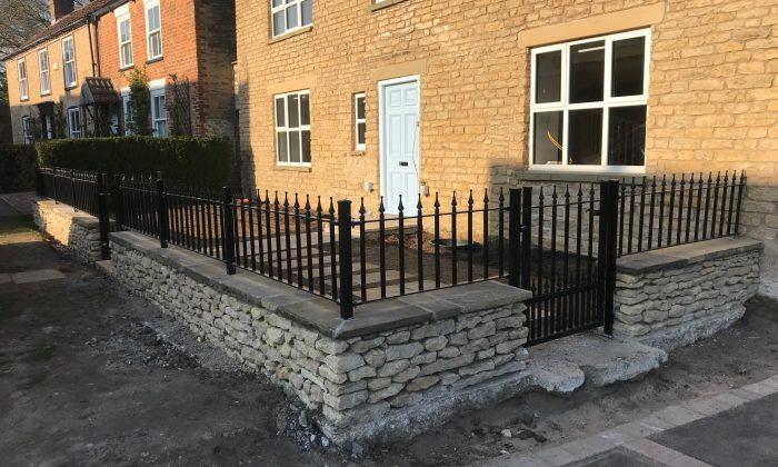 Walltop railings